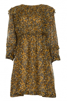 ba&sh |  Printed dress Sandra | brown