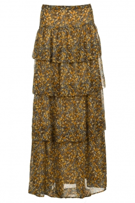 ba&sh |  Printed skirt | brown