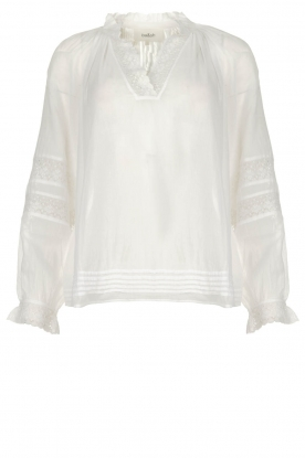 ba&sh |  Laced blouse Stella | white