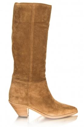 ba&sh |  Suede boots Cowby | sand