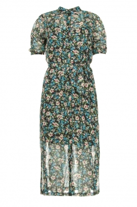 Freebird | Floral midi dress Hayden | blue