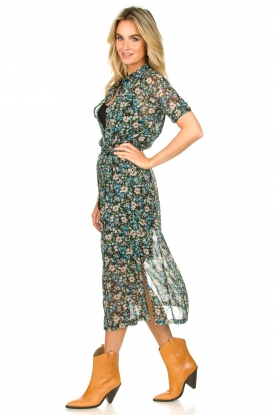 Look Floral midi dress Hayden