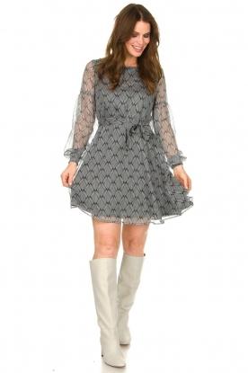 Look Print dress Celie