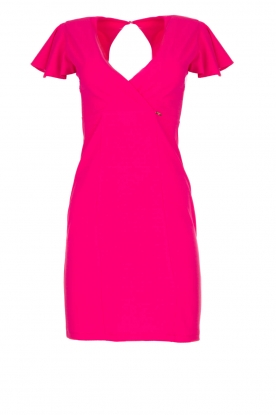 Fracomina |  Dress with open back Daphne | pink