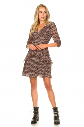 Look Printed wrap dress Lola