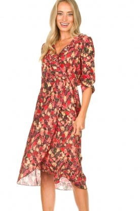 Freebird | Dress with print Yuma | red