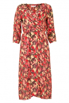 Freebird |Dress with print Yuma | red
