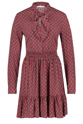 Freebird |  Print dress Elia | red