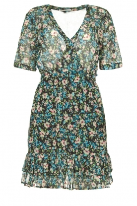 Freebird |  Floral dress Emily | blue