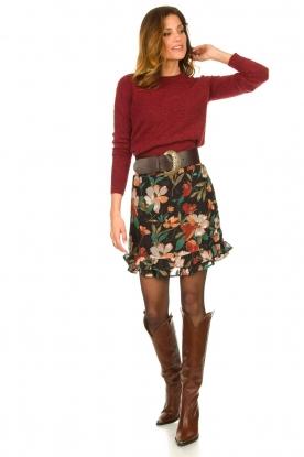 Look Floral skirt Femm