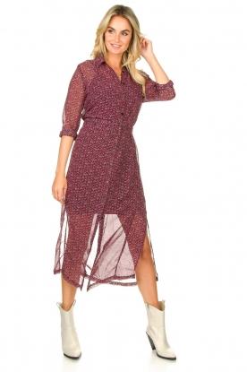 Look Printed maxi dress Harper