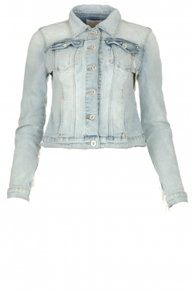 Fracomina |  Denim jacket Perla | blue