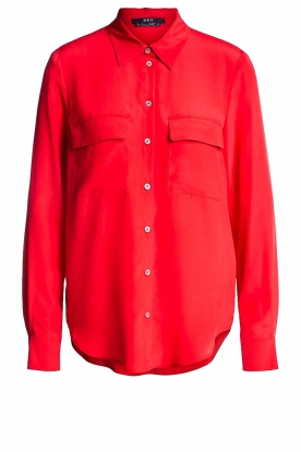 Set |  Blouse with pockets Evi | red