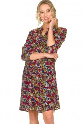 Set |  Dress with floral print Flowerbomb | print