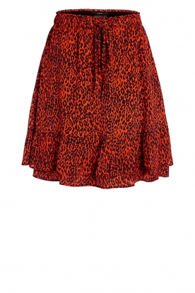 Set |  Skirt with leopard print Tigra | animal print