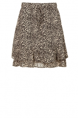 Set |  Leopard printed skirt Tigra | animal print