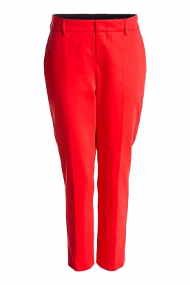 Set |  Classic trousers Lisa | red