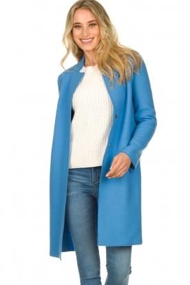 Set |  Coat Hannah | blue