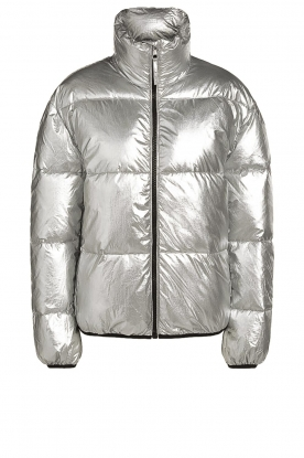 Set |  Down jacket Shimmer | silver