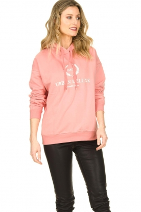 Set |  Sweater with print Urban | pink