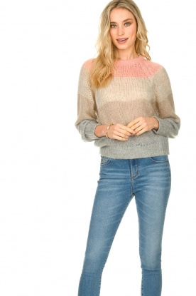 Set |  Sweater with stripes Colourblok | multi