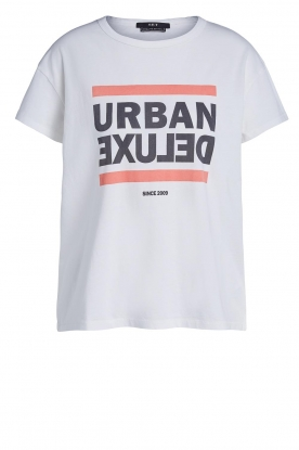 Set |  T-shirt with print  Urban | white