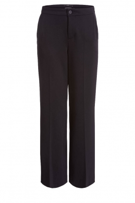 Set |  Classic palazzo trousers Patricia | black