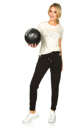Look Sports top with logo print Michelle