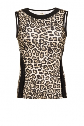 Goldbergh |Sports top Leona | animal print