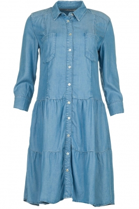 Silvian Heach |  Denim dress Udin | blue