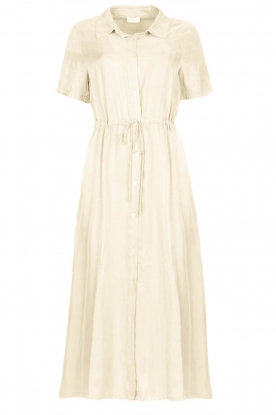 JC Sophie | Dress with drawstring Cameo | natural