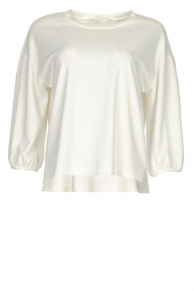 JC Sophie |  Top with bow detail Channing | white