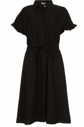 JC Sophie | Dress with ruffles Cheryl | black