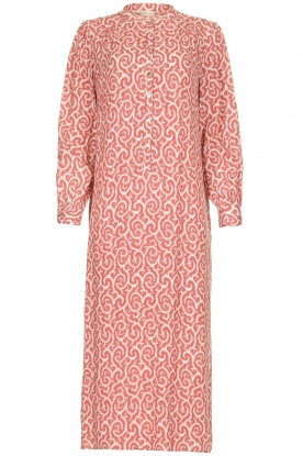 JC Sophie |  Printed maxi dress Christen | pink