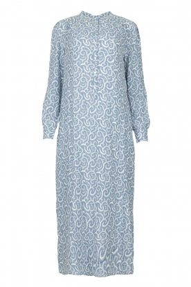 JC Sophie | Printed maxi dress Christen | blue
