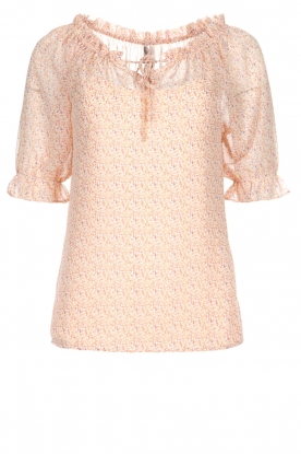 JC Sophie | Blouse with floral print Christina | pink