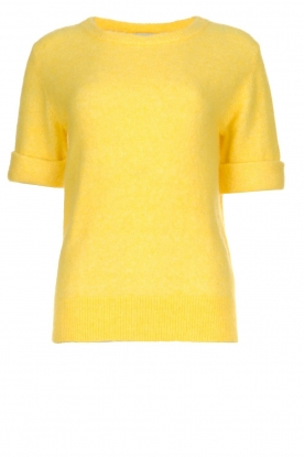 JC Sophie |  Sweater with short sleeves Cardiff | yellow