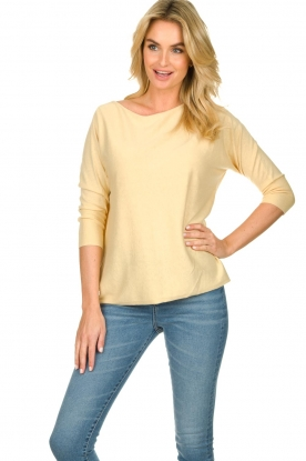 JC Sophie |  Sweater  Cate | yellow