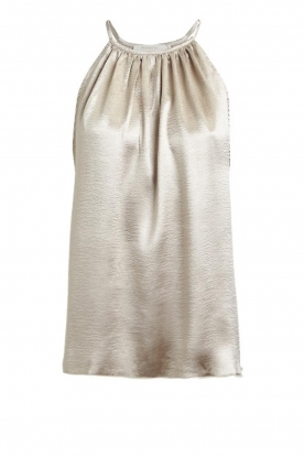 Rabens Saloner |  Metallic top Anuki | gold