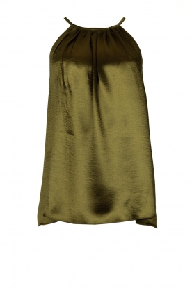 Rabens Saloner | Metallic top Anuki | green