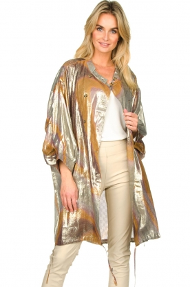 Rabens Saloner |  Metallic jacket Randy | metallic