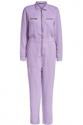 Set | Jumpsuit with pockets Caris | purple