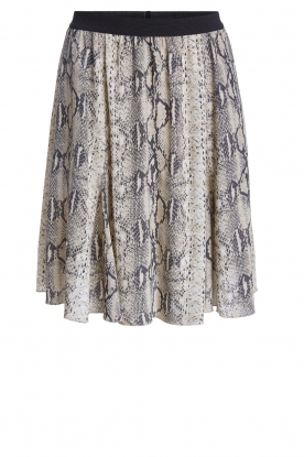 Set |  Snake print skirt Jule | animal
