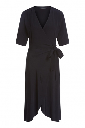 Set |  Wrap dress Lolo | black