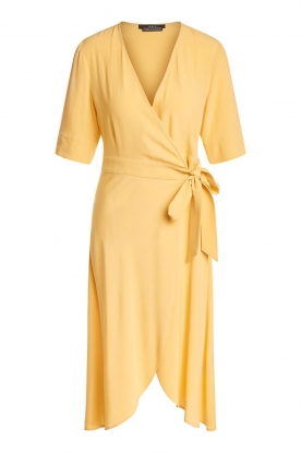 Set | Wrap dress Lolo | yellow