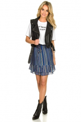 Look Skirt with lurex Jamilla