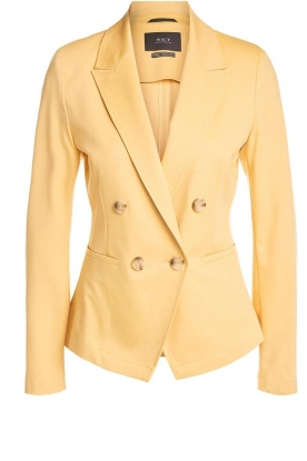 Set | Fitted blazer Anna | yellow