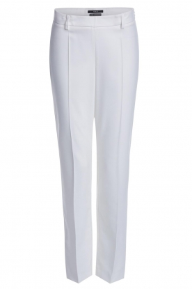 Set |  Classic trousers Neri | white