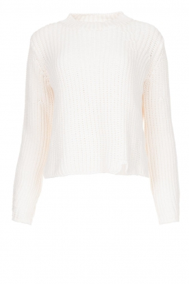 Knit-ted | Chunky knitted sweater Rens | naturel