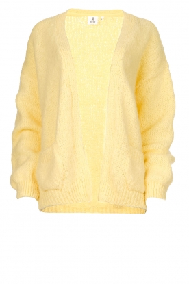 Knit-ted |  Alpaca cardigan | yellow